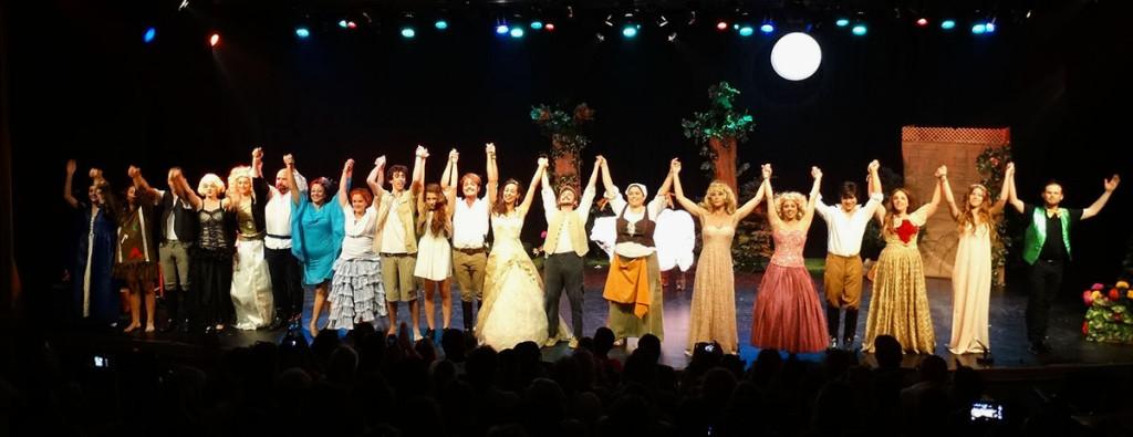 """""""Había una vez...En el Bosque"""", Musical de Fin de Curso de jóvenes y adultos 2015"""